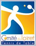 logo comité du loiret de tennis de table
